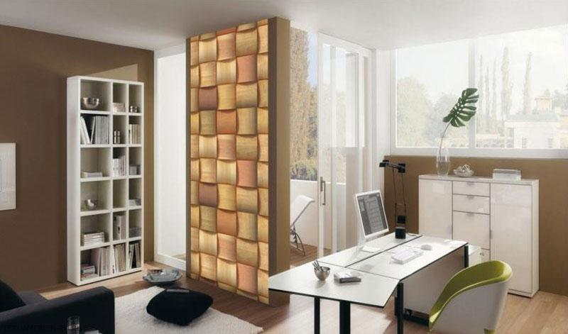 Фотообои бумажные «3D Стена, 100х270 cм
